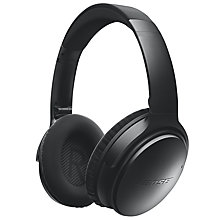 Buy Bose® QuietComfort® Noise Cancelling® QC35 Over-Ear Bluetooth NFC Headphones With Mic/Remote Online at johnlewis.com