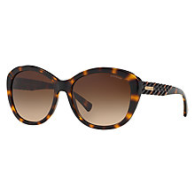 Buy Coach HC8142 Oval Gradient Sunglasses Online at johnlewis.com