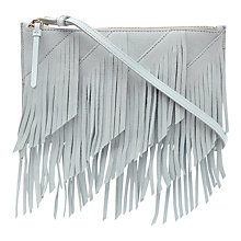 Buy Reiss Fringed Shoulder Bag Online at johnlewis.com