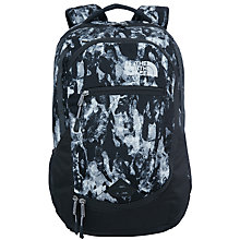Buy The North Face Pivoter Backpack, Black/Silver Online at johnlewis.com