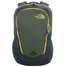 Buy The North Face Vault Backpack, Terrarium Green/Lemongrass Green Online at johnlewis.com