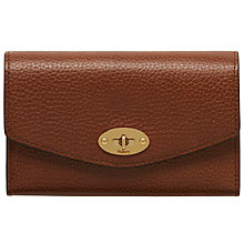 Buy Mulberry Postman's Lock Leather Wallet Online at johnlewis.com