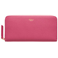 Buy Mulberry Zip Around Leather Wallet Online at johnlewis.com