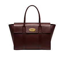 Buy Mulberry Bayswater New Classic Natural Grain Leather Bag Online at johnlewis.com