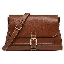Buy Mulberry Small Buckle Leather Satchel Online at johnlewis.com