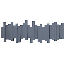 Buy Umbra Sticks 5 Hook Rack, Blue Online at johnlewis.com