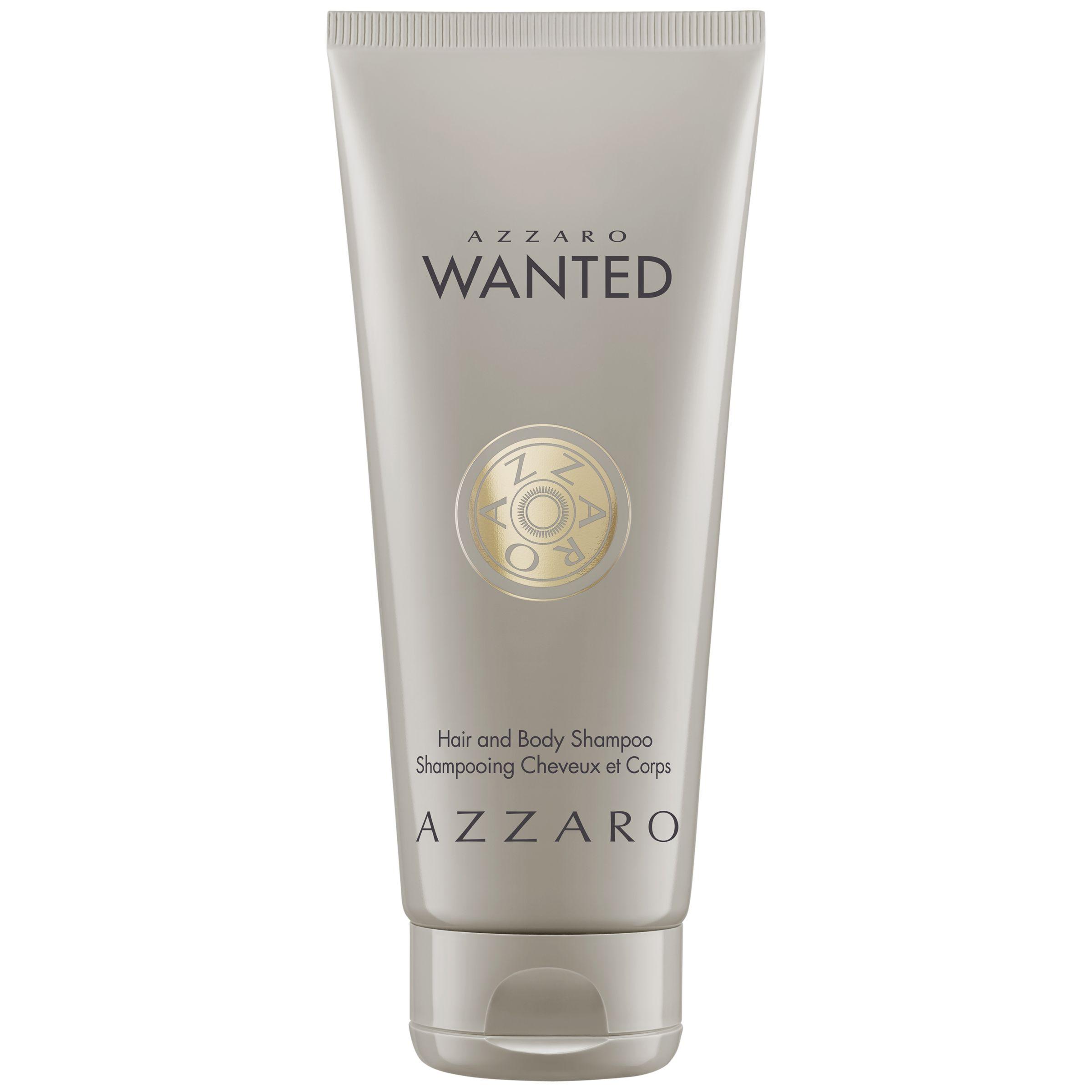 Azzaro Azzaro Wanted Hair & Body Shampoo, 100ml