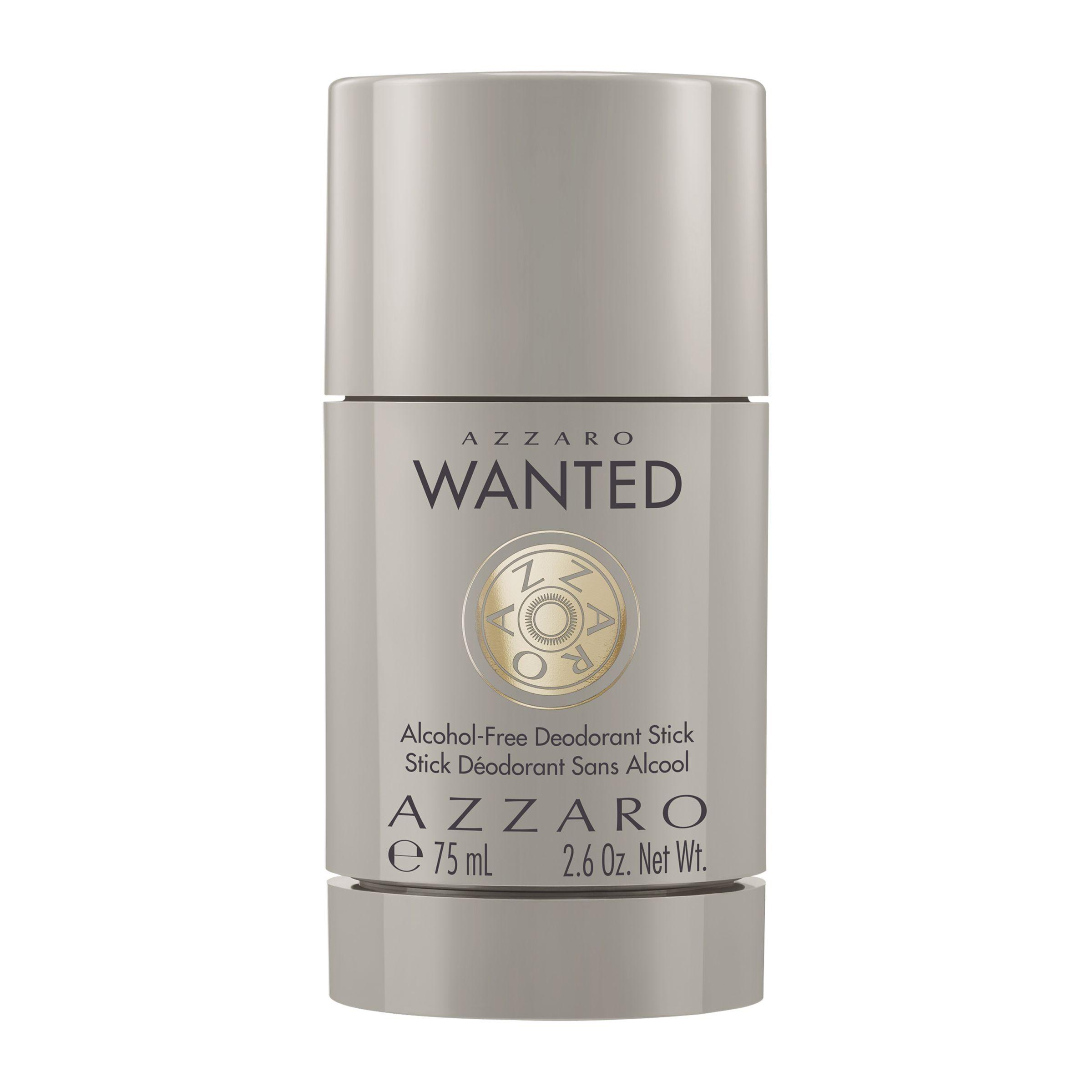 Azzaro Azzaro Wanted Alcohol-Free Deodorant Stick, 75ml