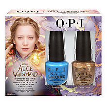 Buy OPI Alice In Wonderland Nail Lacquer Duo Online at johnlewis.com