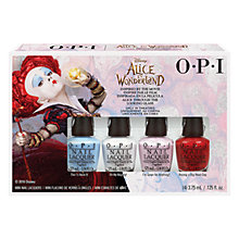 Buy OPI Alice in Wonderland Royal Court of Colour Mini Set Online at johnlewis.com