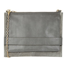 Buy Oasis Lucia Clutch Bag, Mid Grey Online at johnlewis.com