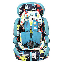 Buy Cosatto Zoomi 5 Point Plus Group 1, 2 & 3 Car Seat, Cuddle Monster 2 Online at johnlewis.com