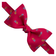 Buy Thomas Pink Pineapple Self Tie Bow Tie, Pink Online at johnlewis.com