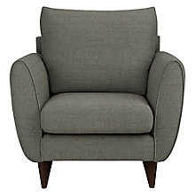 Buy John Lewis Warwick Cushion Back Armchair, Camber Steel Online at johnlewis.com