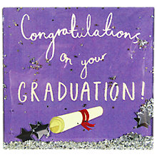 Buy James Ellis Stevens Graduation Scroll Card Online at johnlewis.com