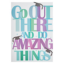 Buy Woodmansterne Graduation Congratulations Card Online at johnlewis.com