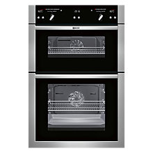 Buy Neff U16E74N5GB Built-In Double Oven, Stainless Steel Online at johnlewis.com
