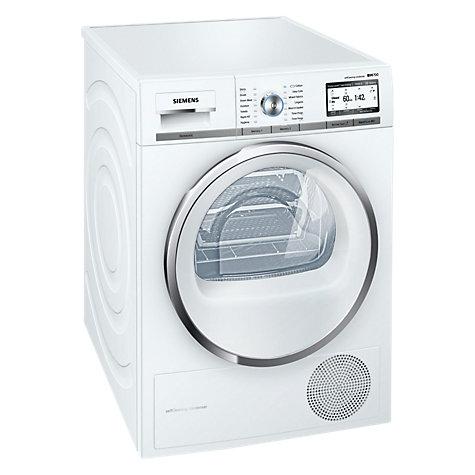 Buy siemens wt4hy790gb freestanding heat pump condenser tumble dryer with hom - Seche linge performant ...