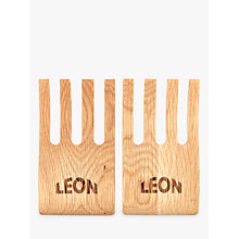 Buy LEON Salad Hands Salad Servers Online at johnlewis.com