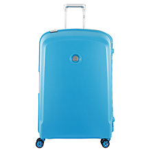 Buy Delsey Belfort 4-Wheel 76cm Large Suitcase, Teal Online at johnlewis.com