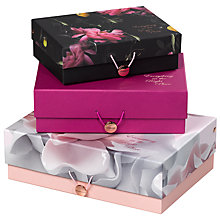 Buy Ted Baker Citrus Bloom Storage Boxes Online at johnlewis.com
