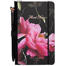 Buy Ted Baker Mini Notebook and Pen Online at johnlewis.com