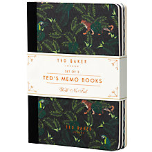 Buy Ted Baker Memo Notebooks x3 Online at johnlewis.com