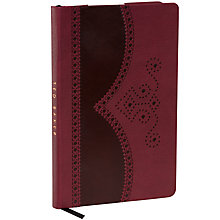 Buy Ted Baker A5 Notebook, Oxblood Online at johnlewis.com