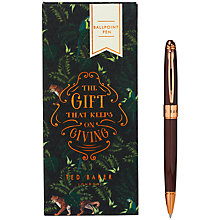 Buy Ted Baker Boxed Pen, Walnut Online at johnlewis.com