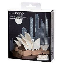 Buy Nanoblock Paper Sydney Opera House Online at johnlewis.com