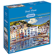 Buy Gibsons Boat Float Jigsaw Puzzle, 1000 Piece Online at johnlewis.com