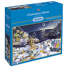 Buy Gibsons Christmas Moon Jigsaw Puzzle,1000 pieces Online at johnlewis.com