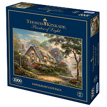 Buy Gibsons Lovelight Cottage 1000 Piece Jigsaw Puzzle Online at johnlewis.com