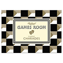 Buy Ridley's Games Room Classic Charades Game Online at johnlewis.com