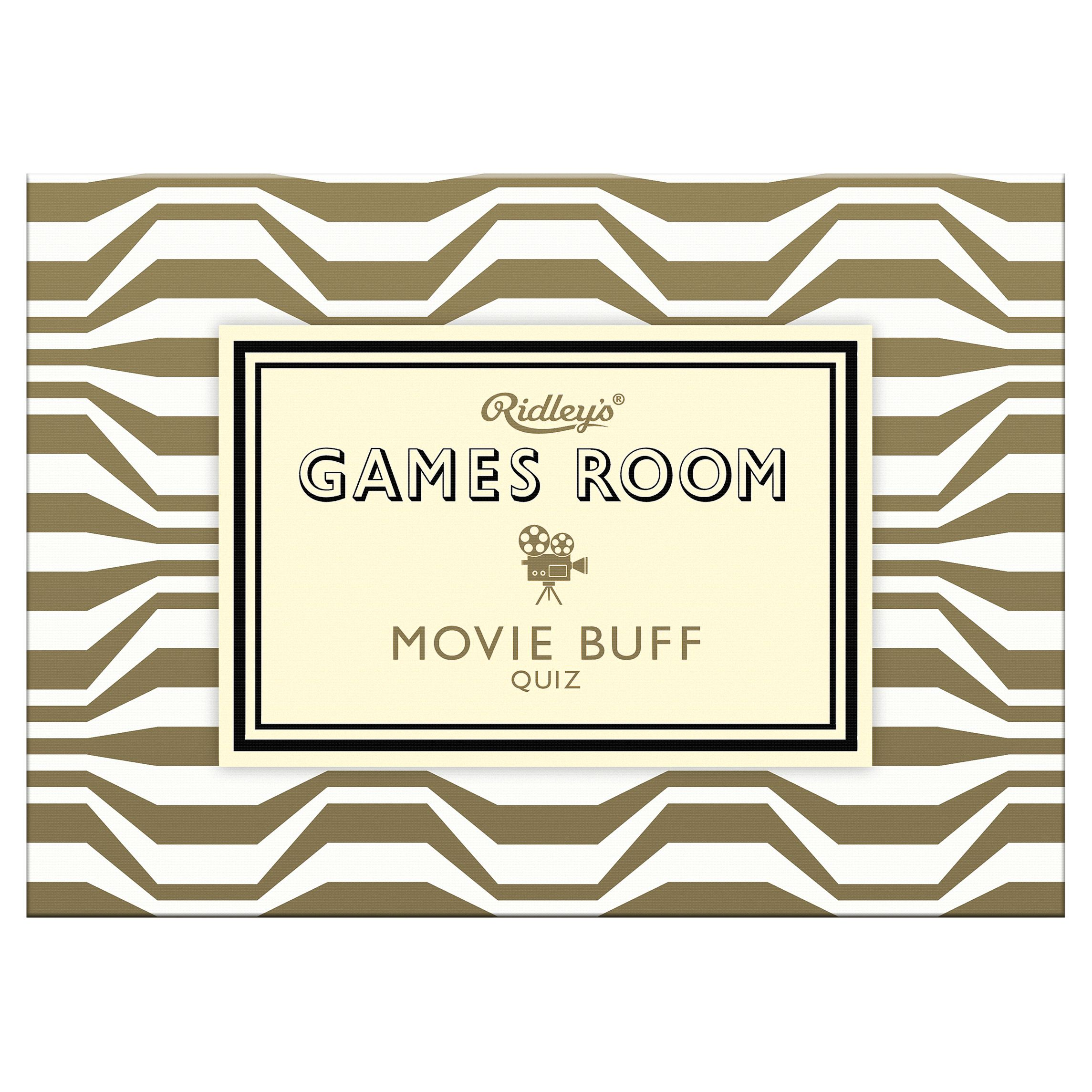 Ridley's Ridley's Games Room Movie Buff Game