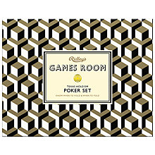 Buy Ridley's Games Room Gold Poker Set Online at johnlewis.com