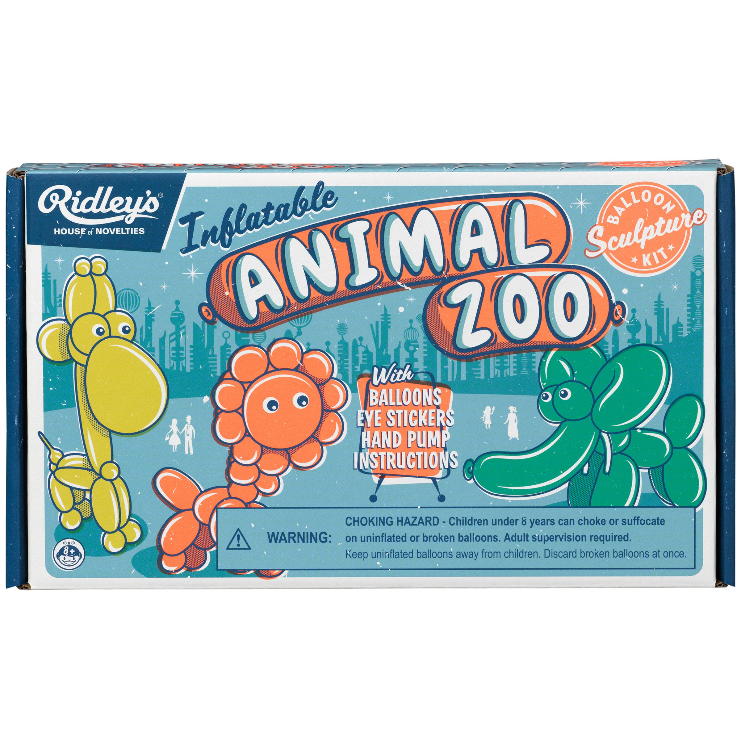 Ridley's Ridley's Inflatable Zoo Balloon Modelling Kit