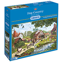 Buy Gibsons Hop Country 1000 Piece Jigsaw Puzzle Online at johnlewis.com