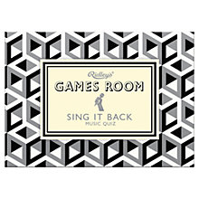 Buy Ridley's Games Room Sing It Back Game Online at johnlewis.com