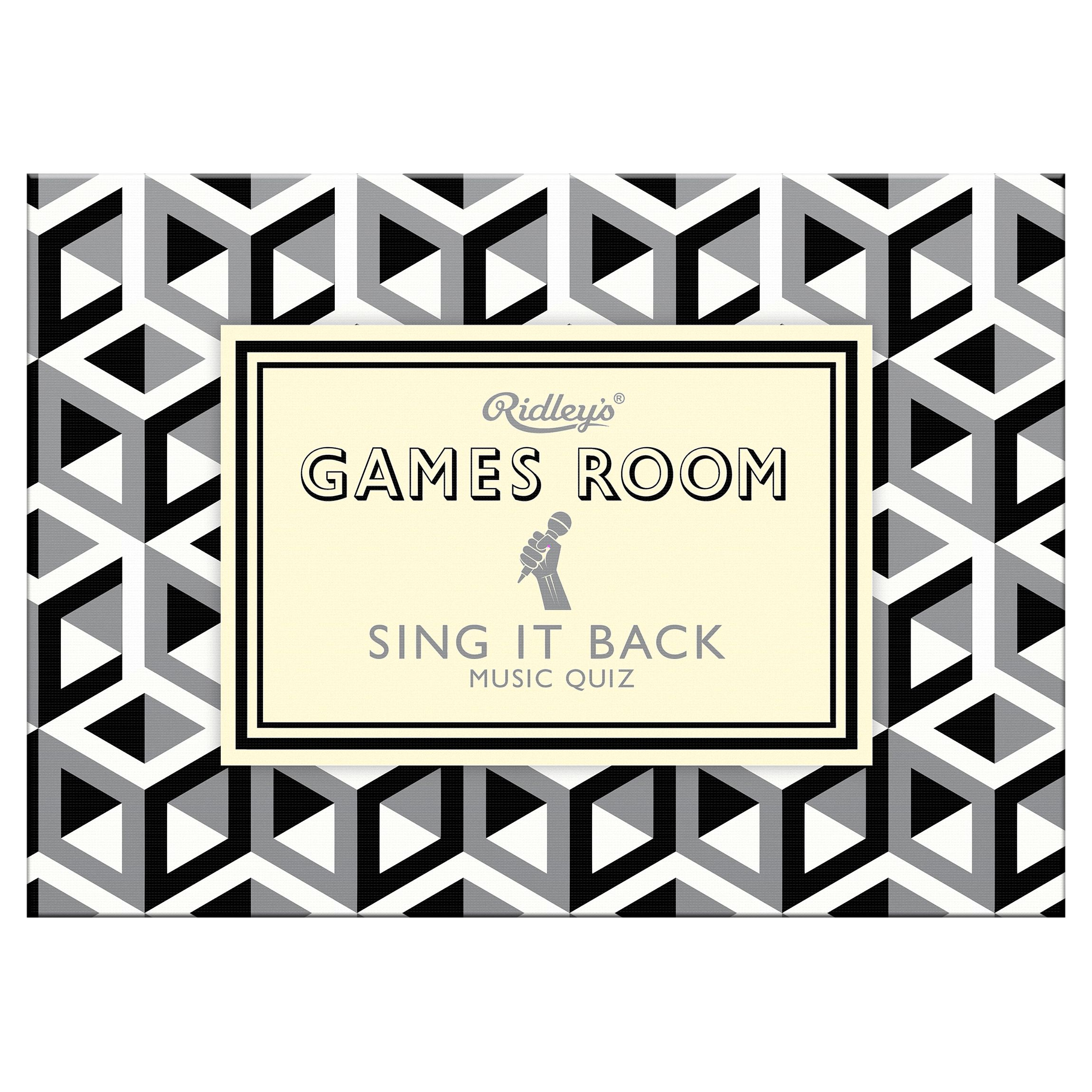 Ridley's Ridley's Games Room Sing It Back Game