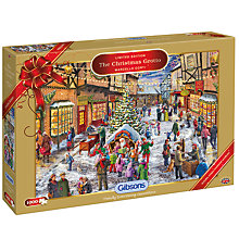 Buy Gibsons Christmas Grotto Jigsaw Puzzle, 1000 pieces Online at johnlewis.com