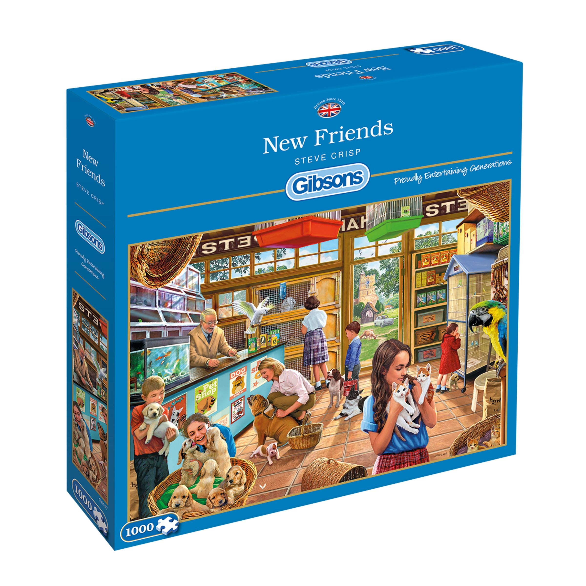 Gibsons Gibsons Games New Friends (Pet Shop), 1000 Pieces
