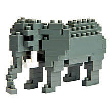 Buy Nanoblock Elephant Online at johnlewis.com