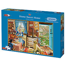 Buy Gibsons Home Sweet Home 500XL Piece Jigsaw Puzzle Online at johnlewis.com