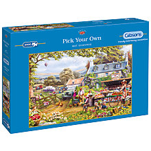 Buy Gibsons Pick Your Own 2000 Piece Jigsaw Puzzle Online at johnlewis.com