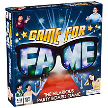 Buy Game for Fame Board Game Online at johnlewis.com