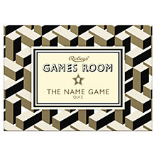 Buy Ridley's Games Room Name Game Online at johnlewis.com