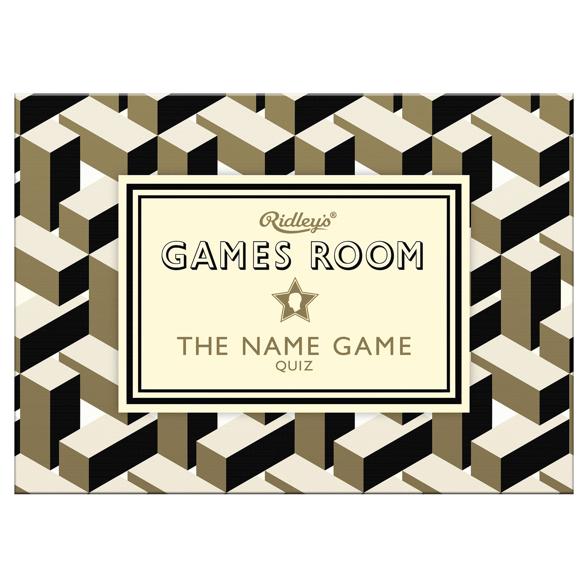 Ridley's Ridley's Games Room Name Game
