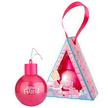 Buy Grace Cole Glitter Fairies Festive Fairies Body Wash Bauble, 150ml Online at johnlewis.com