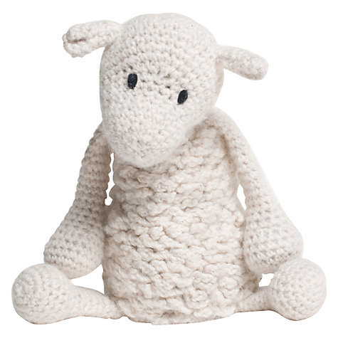 Crochet Patterns John Lewis : Buy Toft Simon the Sheep Crochet Kit Online at johnlewis.com